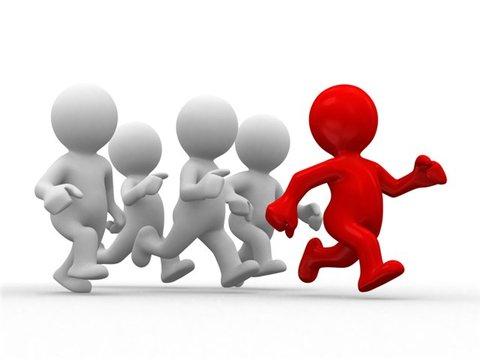 идущие за лидером
