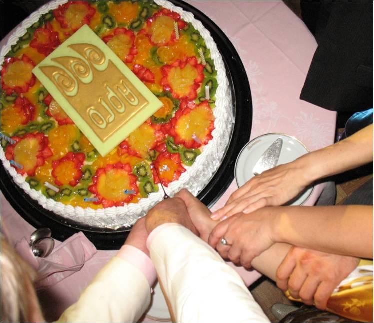 """Торт с ресторана """"Метрополь"""", где Арго отмечала своё 10-ти летие!"""