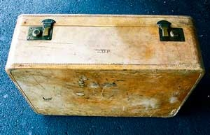 чемодан без ручки