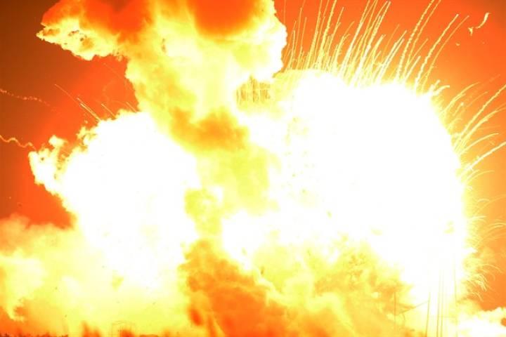 взрыв союз, катастрофа