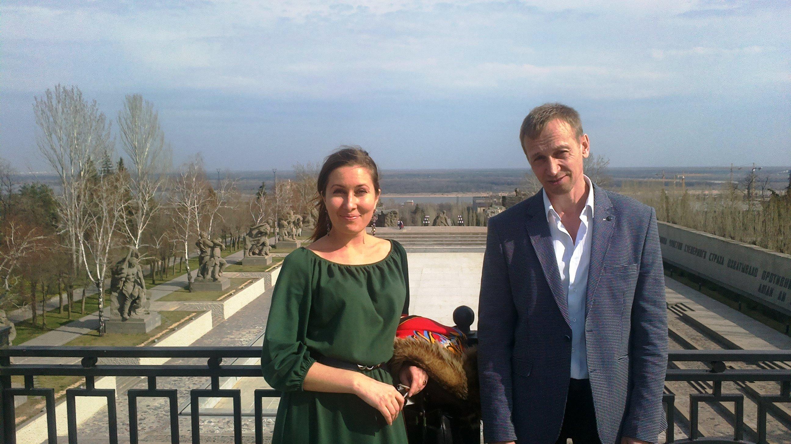 Швецова Екатерина и Виктор Калинин