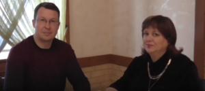 Галина Новосёлова и Алексей Горелов