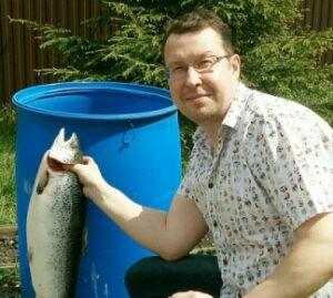 поймать лосося, горелов