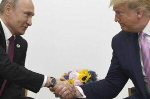 путин и трамп в тандеме