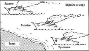 10 уроков, корабли в море