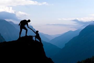 гора, помощь, поддержка